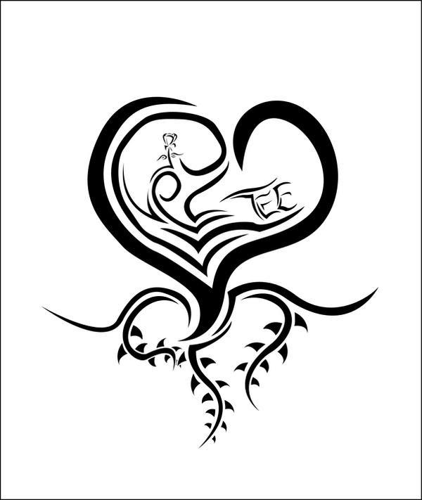 Heart Tattoo Designs Gallery 28