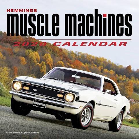 2020 Cars Calendar