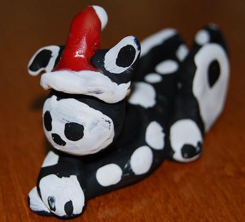 Skelekitty Santa by Santana P.