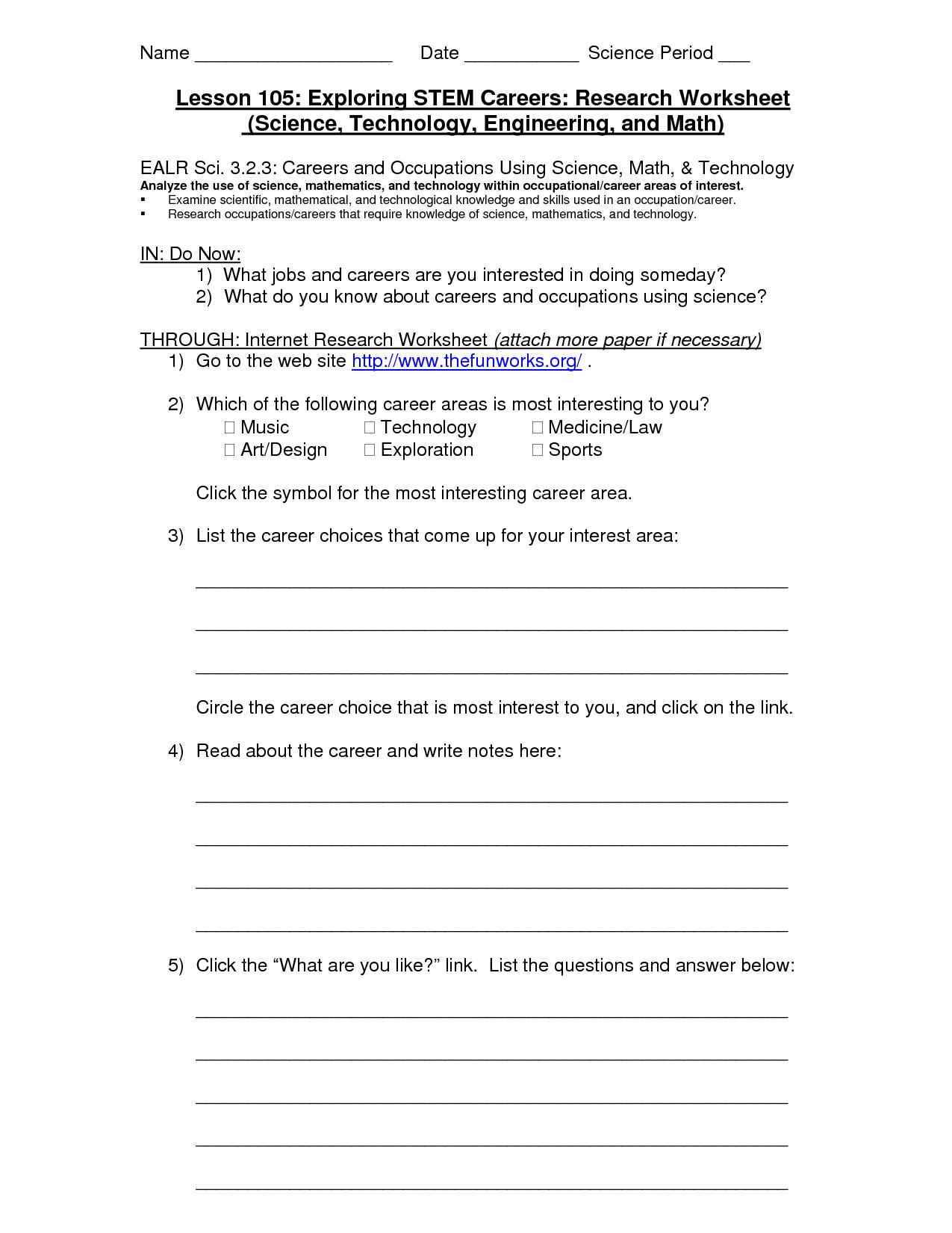 35 Research Worksheet Middle School   Worksheet Resource Plans