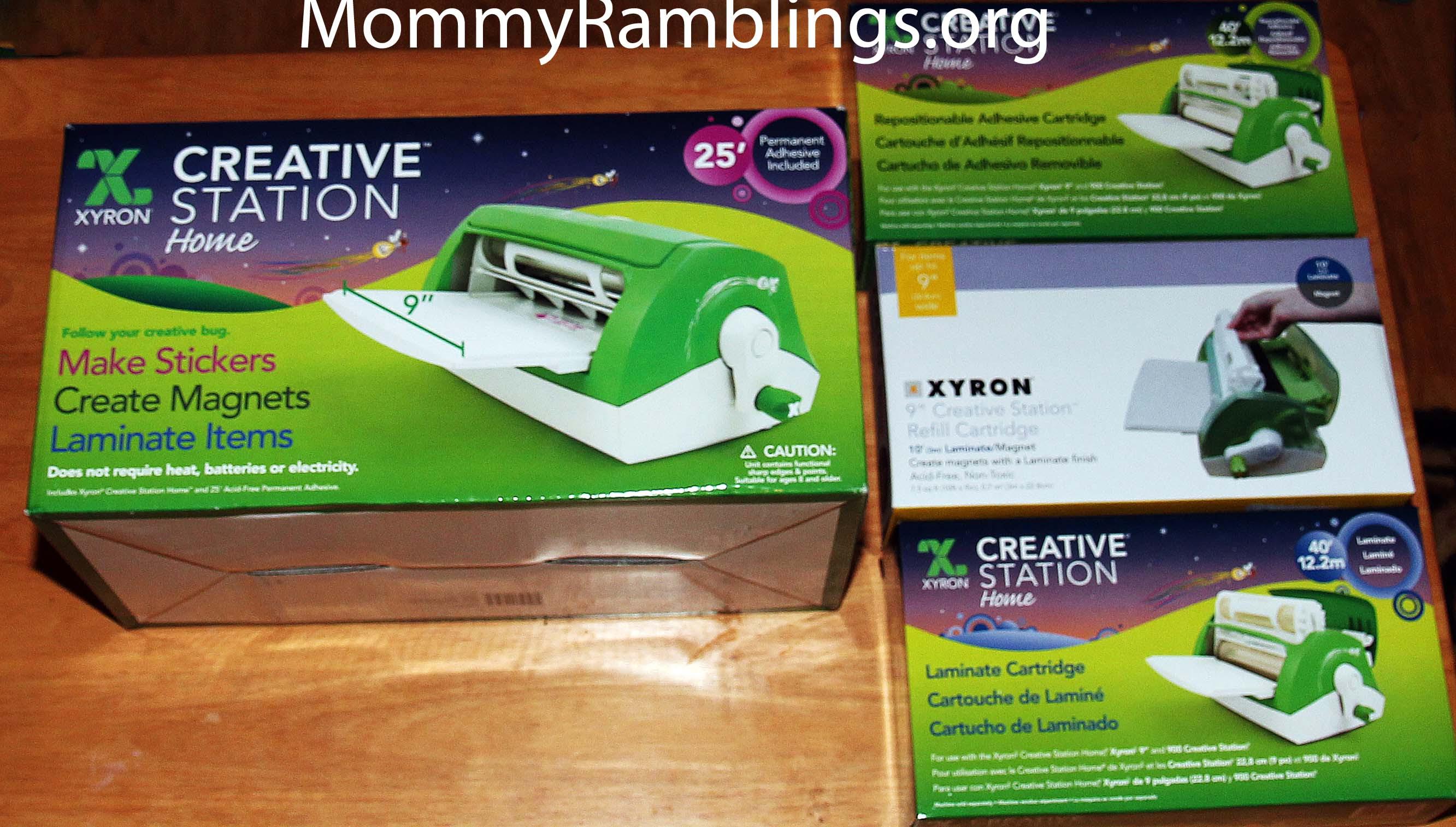 Creative Station Mommy Ramblings