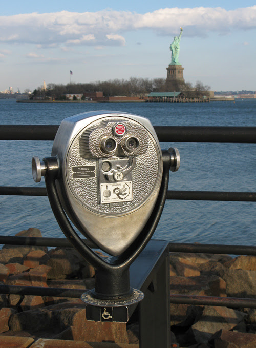 pay viewer at Liberty State Park, NJ