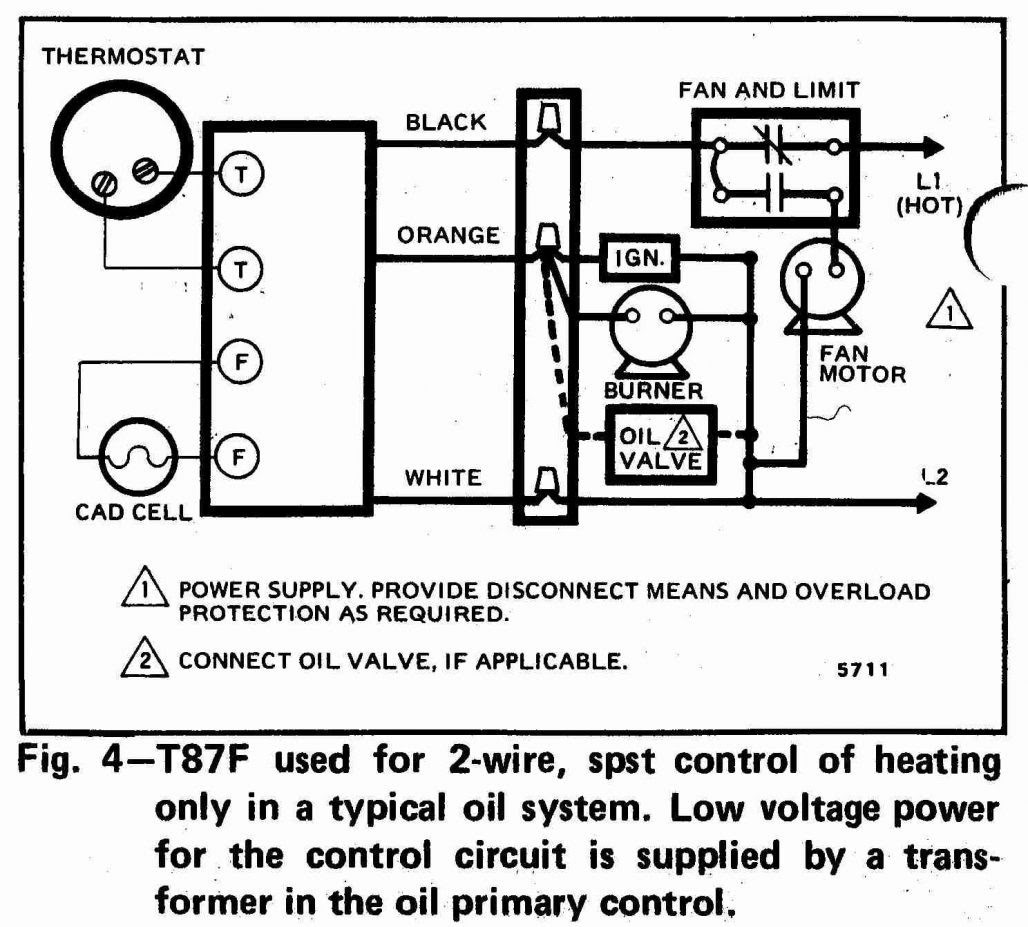 Wiring Diagram For Heating And Cooling Thermostat