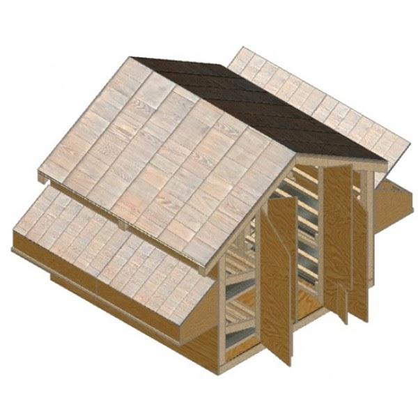 24x24 Home Addition: Sheds Ottors: 24x24 Barn Kit