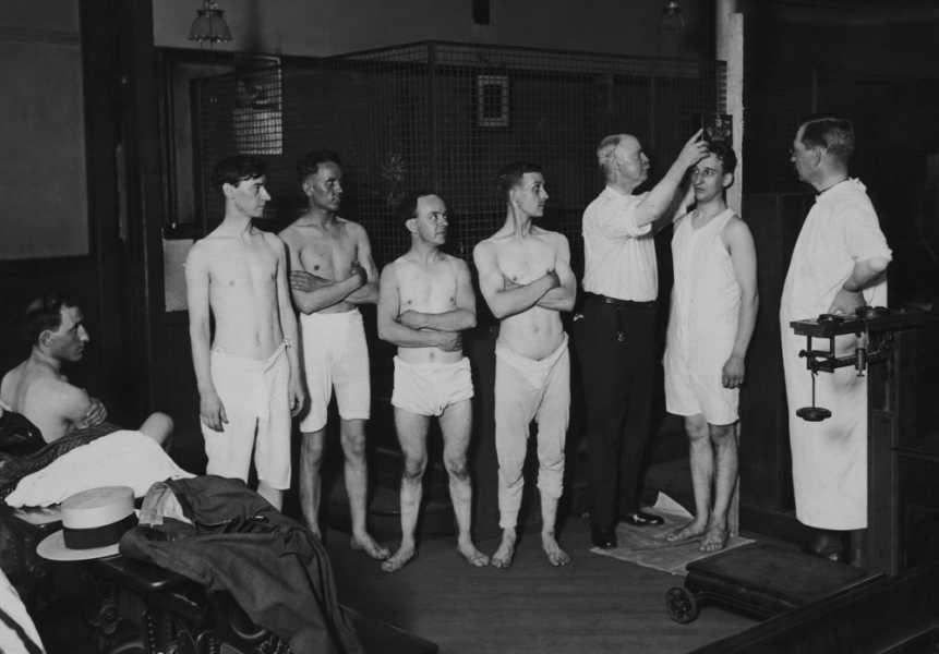Registering for the Draft in World War I