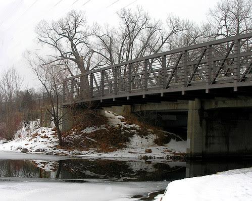 Bridge at St. Albans Bay