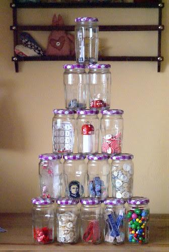 Bonne Maman confiture jars