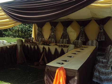 Wazzy Thoughts: The latest in African Themed Weddings
