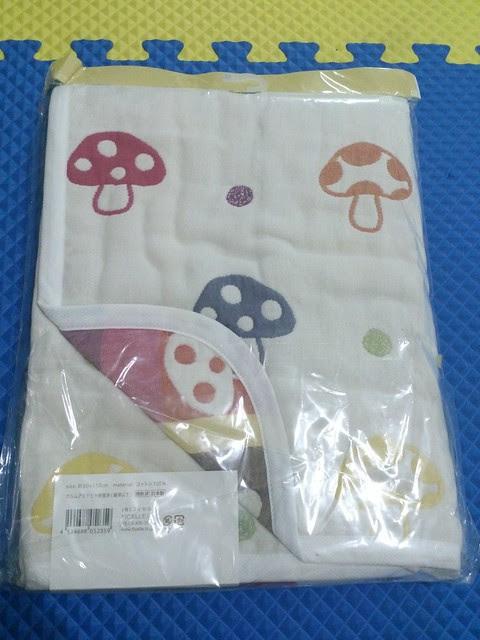 Hoppetta-六層紗蘑菇被子2