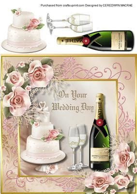 On Your Wedding Day .   CUP528049 1398   Craftsuprint