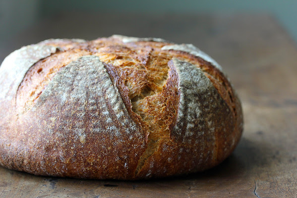 Pain Au Levain with a Firm Starter