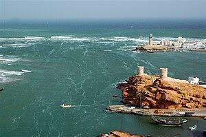 Vista of Sur, Oman. Reconstructed 16th century...