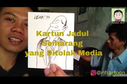 Cerita tentang Ribuan Karya Kartunis Semarang yang Tidak Dimuat Media