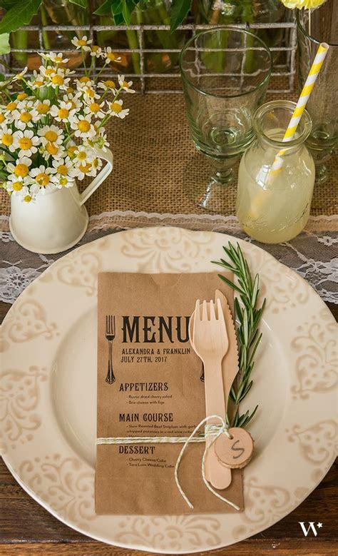 1000  ideas about Rustic Table Settings on Pinterest
