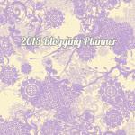Blog Planner 2013 Free