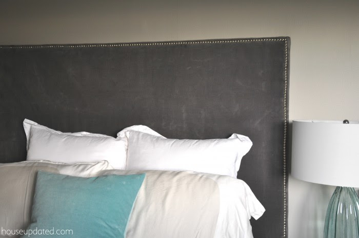 How to Make a Nailhead Upholstered Headboard - House Updated