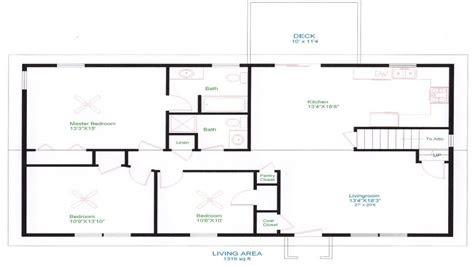 ranch house floor plans unique open floor plans easy