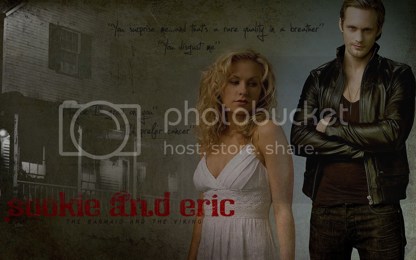 photos of Sookie and Eric,