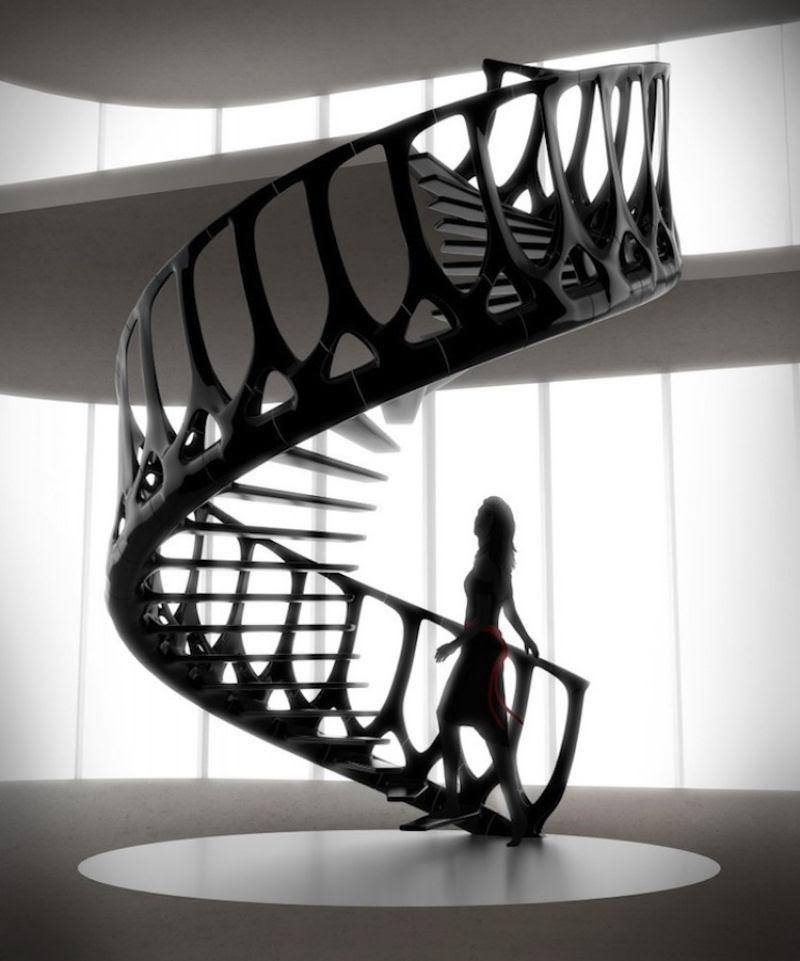 Escadas incrivelmente projetadas que estão um degrau acima das demais 01