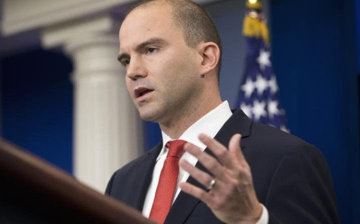 Deputy National Security Adviser For Strategic Communications Ben Rhodes