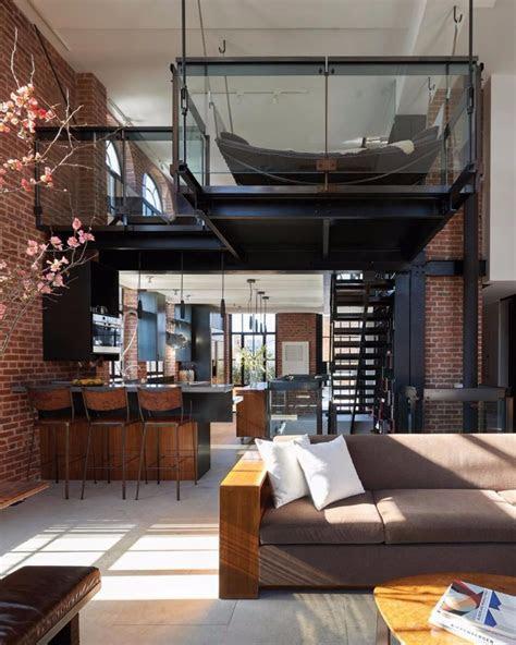 loft style living room design ideas
