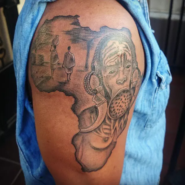 14 African Tattoo Designs And Meanings Tattoo Meanings Designs And