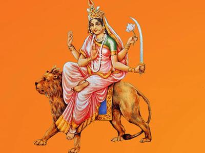 navaratri 2016 day six ma katyayani pooja vidhi and mantra