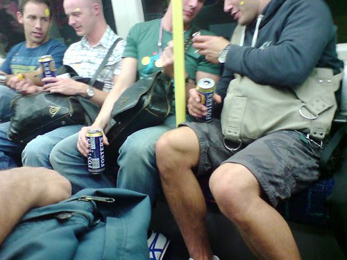 Evil Tube Drinkers by Dave H