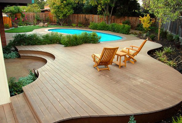 Small Above Ground Pool Deck Ideas
