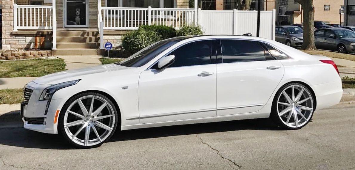 "Ace-1: 2016 Cadillac CT6 on 24"" BD Wheels"