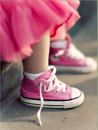 Emily's converse by ~pepapigo  #pink #color #colours!!! Bebe'!!! Love pink!!!