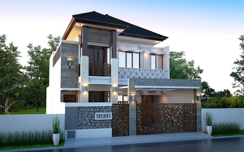 8700 Koleksi Gambar Rumah Desain Bali Gratis