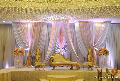 South Asian weddings stage decoration,Pakistani wedding