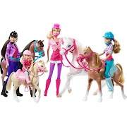 Arco Toys Barbie Her Sisters in A Pony Tale Horse Adventure
