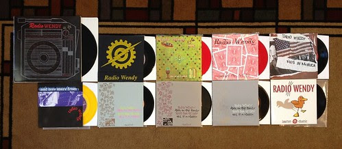 "Collection: Radio Wendy - 10"" & 7""s by Tim PopKid"