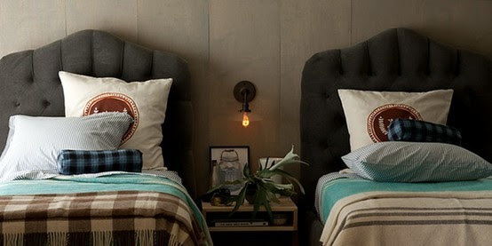 Boy's room: blankets