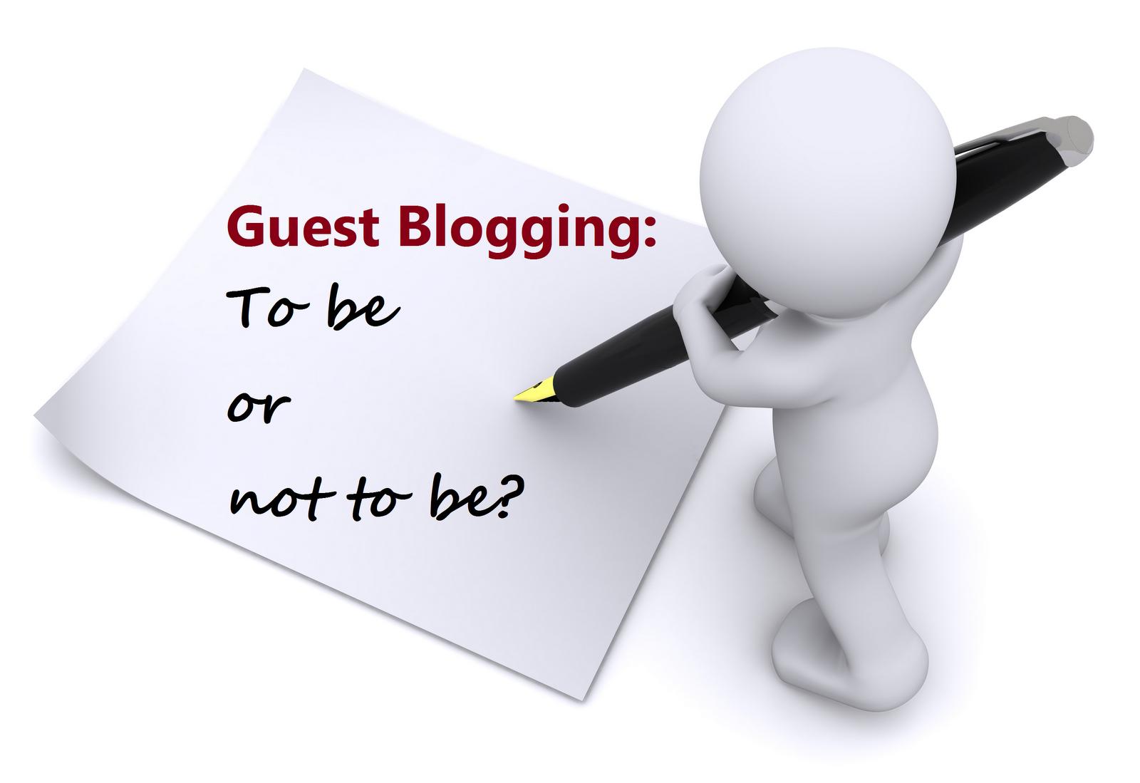 blog blogging guest blogging blogger