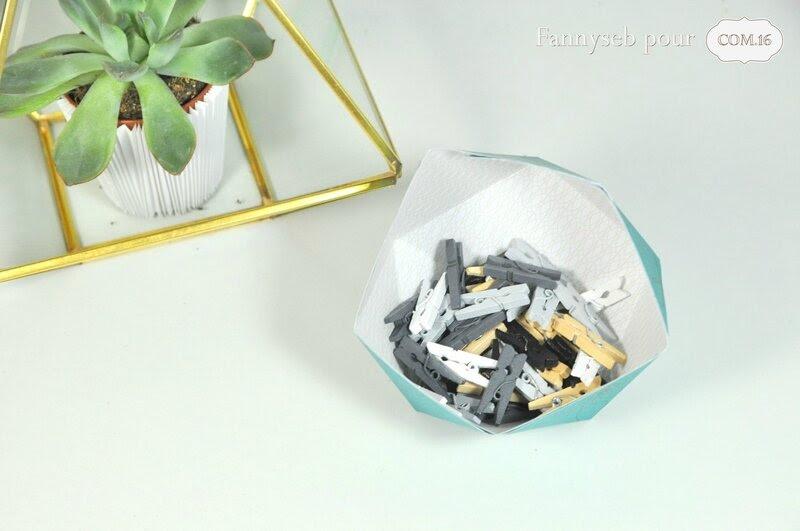 vide poche origami fannyseb papiers adam lisa jeu de l'été COM16 challenge 7 SIGNATURE