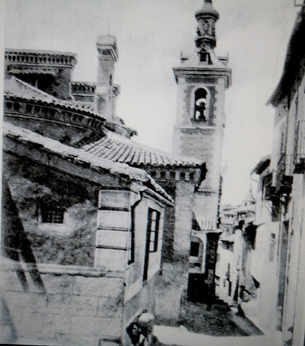 Iglesia de San Justo (Toledo) a inicios del siglo XX