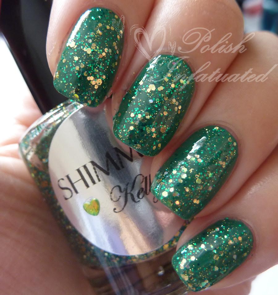 shimmer polish kelly