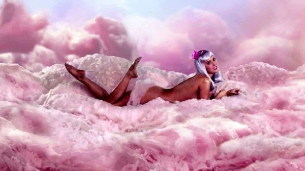 Thank you Katy Perry, for giving me another reason to love cotton candy.