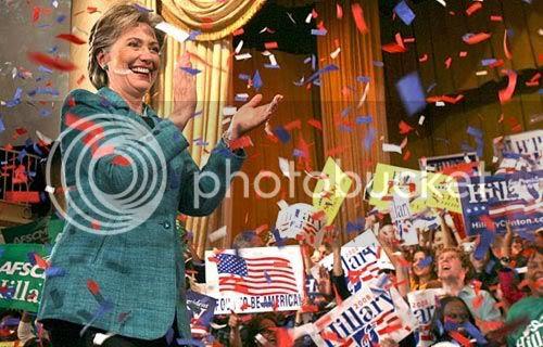 Hillary Pennsylvania