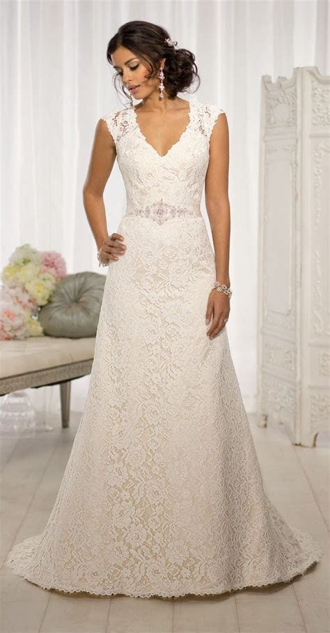 17 Best images about Wedding Dresses with Sleeves on