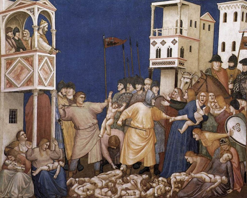 Giotto, Lower Church Assisi, The Massacre of the Innocents 01.jpg