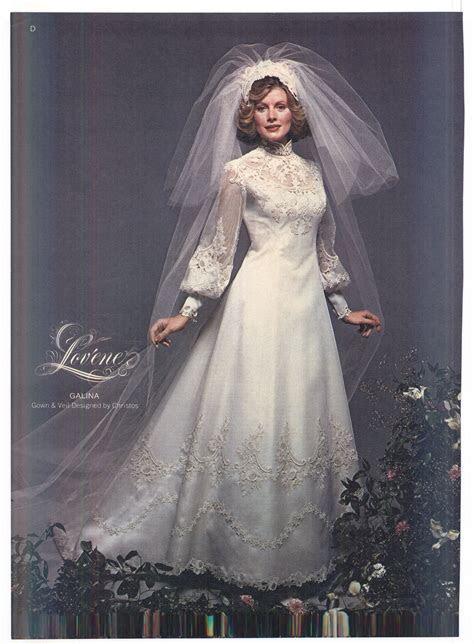 1975 Brides Magazine   Vintage Weddings   Wedding dresses