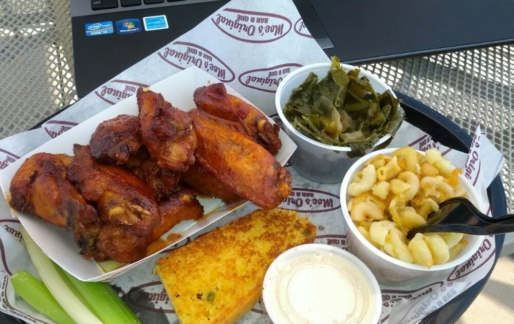 Bbq chain restaurant recipes collard greens for Moe s fish and chicken
