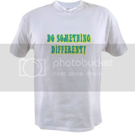 Do Something Different Tee
