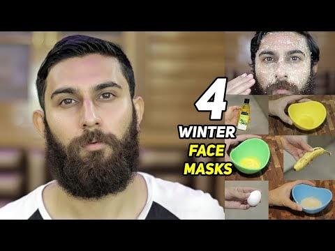 4 WINTER HOMEMADE FACE MASKS FOR DULL & DRY SKIN