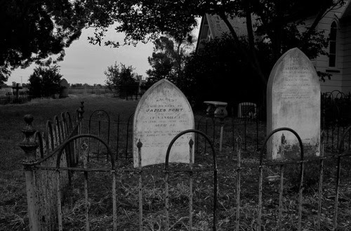 WHY DO I LIKE CEMETERIES? WHY AM I OBSESSED WITH DEATH? I LOVE MURDER MYSTERIES, HAUNTED HOUSE, VAMPIRES, WITCHES, DEMONS, GHOSTS, AND ANY OTHER CREATURE OF THE DARK. WHEN I FIND THE ANSWER, I'LL LET YOU KNOW. BUT FOR NOW, I WILL READ AND WRITE MY MURDER MYSTERIES.