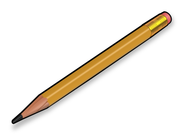 Gambar  Pensil  ClipArt Best